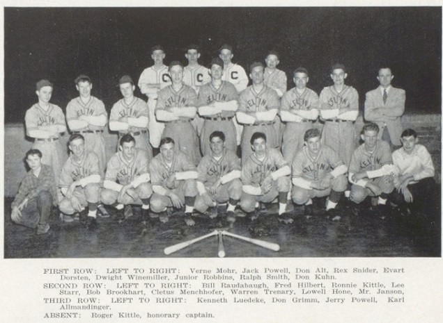 1948 Celina WBL Baseball Champions