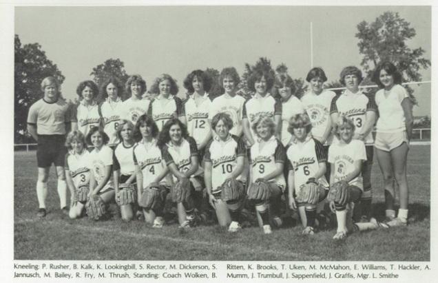1980 St. Joseph-Ogden Softball