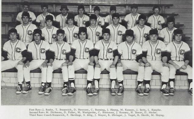 1974 Coldwater Baseball