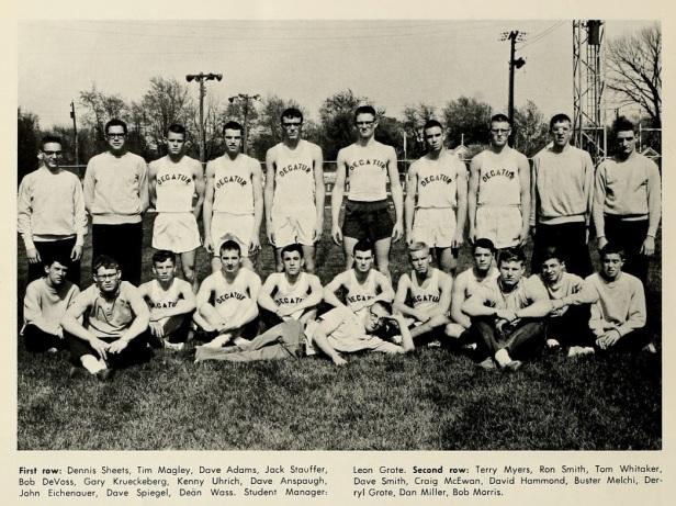 1964 Decatur HS Track