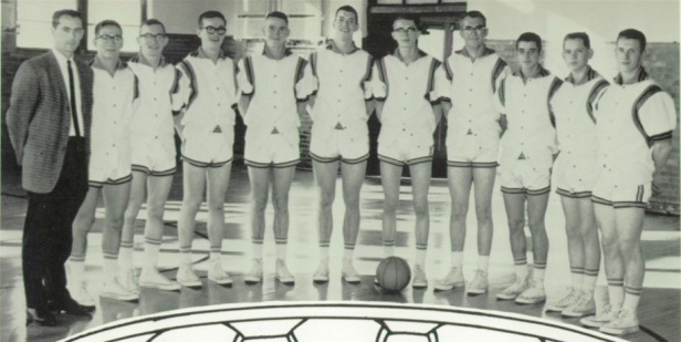 1964 Sidney HS Basketball Team