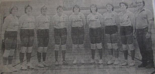 1984 WOBC VB Team