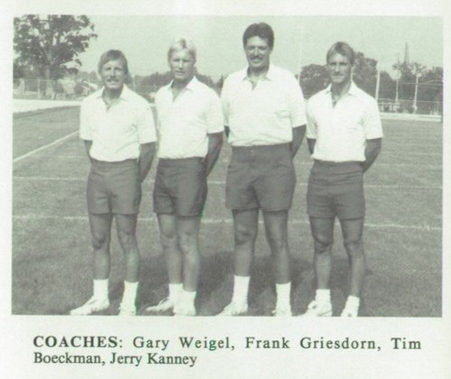 1990 SH Football Coaches