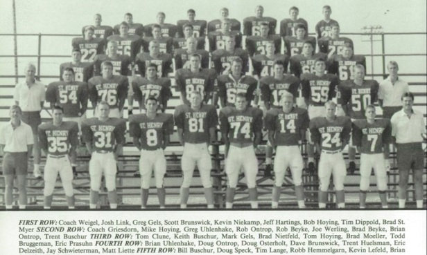 1990 SH Football Team Picture