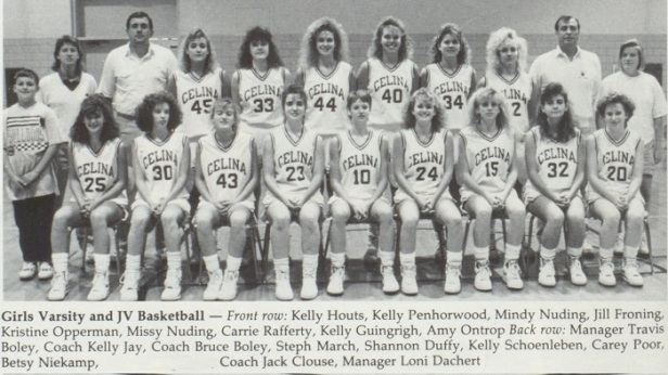 1991 Celina Girls BB Team story