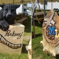 Chainsaw Carvings To Help Raise Money For Local Schools
