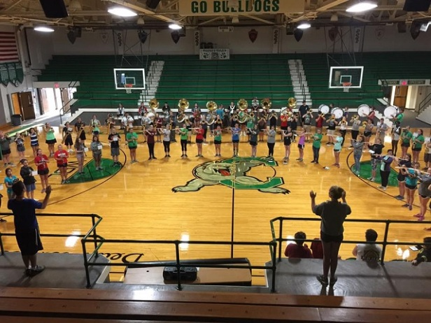 Bulldog Bash - Celina Band