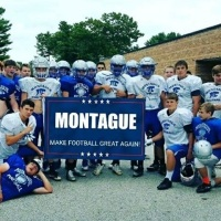 Montague (Michigan) HS - Make Football Great Again
