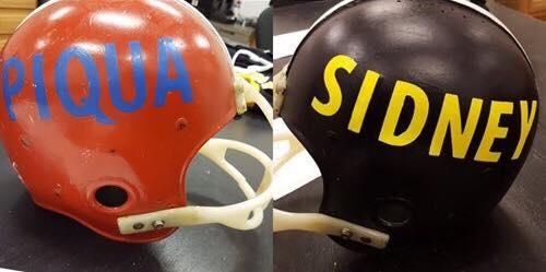 Battered Helmet