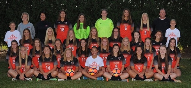 Coldwater Girls Soccer Team