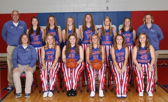 Wayne Trace Girls Basketball