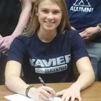 Minster's Cassie Francis Signs With Xavier