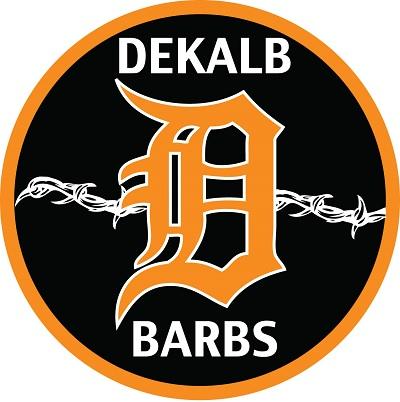DeKalb Barbs Logo