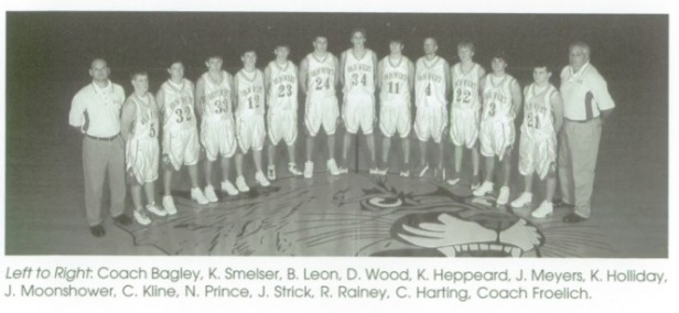 1995 Van Wert HS Basketball