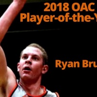 Ryan Bruns Named OAC Player of the Year