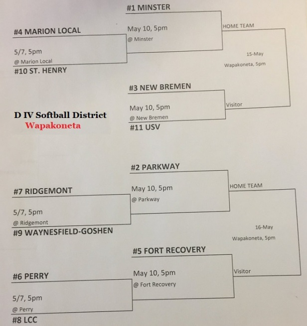 DIV softball draw