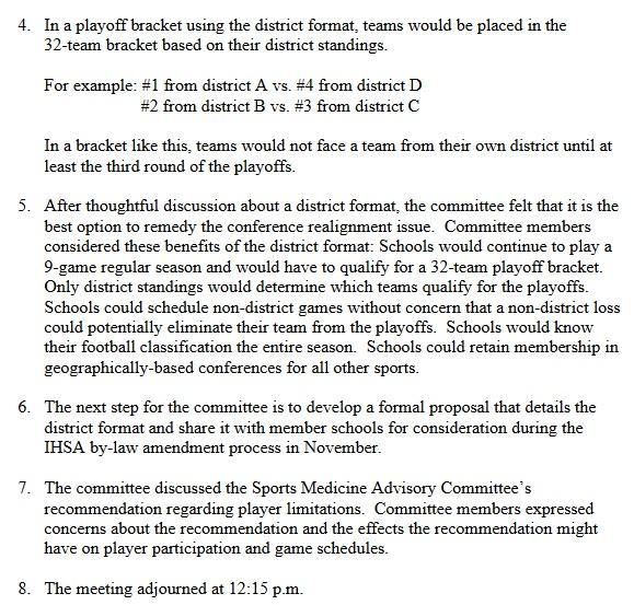 IHSA Football Proposal 1