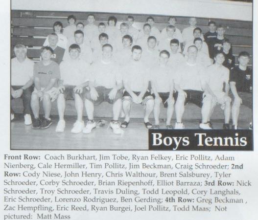 2004 OG Boys Tennis