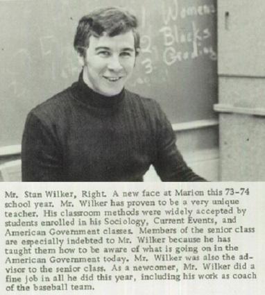 Stan Wilker 1973-74