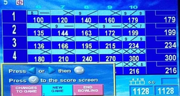 mauer 300 scoreboard