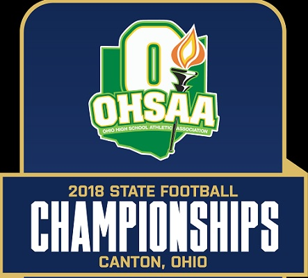 OHSAA 2018 FB State Logo