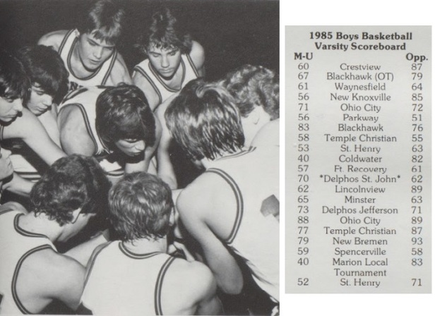 1985 Mendon-Union Huddle.jpg
