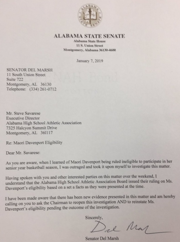 ala state legs letter