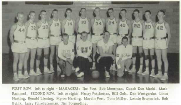 1960 St. Henry Boys Basketball