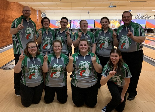Celina Girls Sectional Champs Bowling