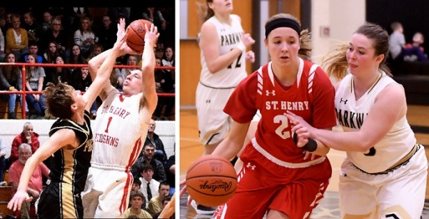 St Henry vs Parkway BB 2019