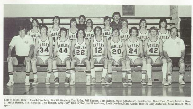 1975 Harlem Boys Basketball