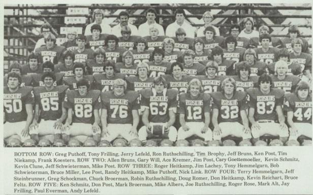 1977 SH Football Team
