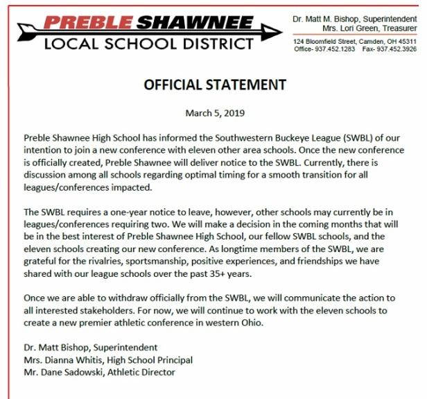 Preble Shawnee