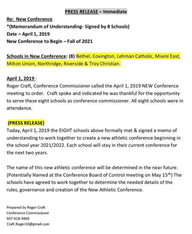 new conference