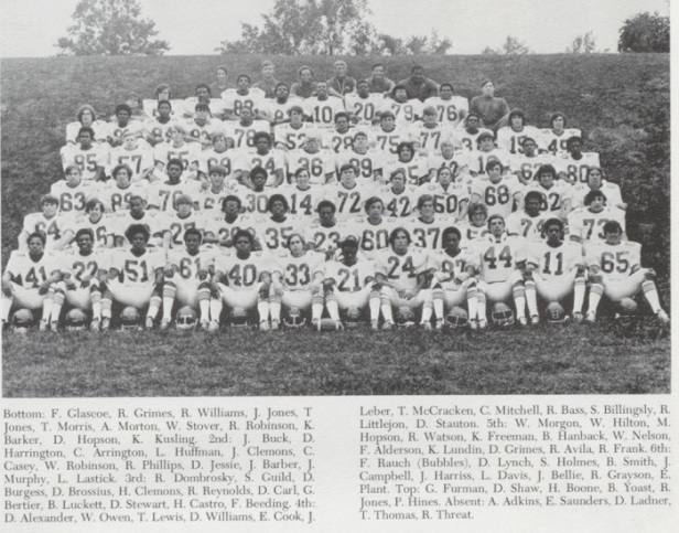 1071 TC Williams HS FB Team