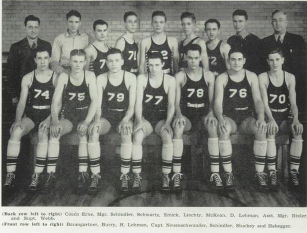 1940 Berne HS Bears