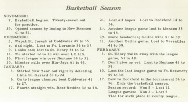 1950 Marion St. John schedule.jpg