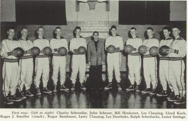 1953 NK Boys Basketball