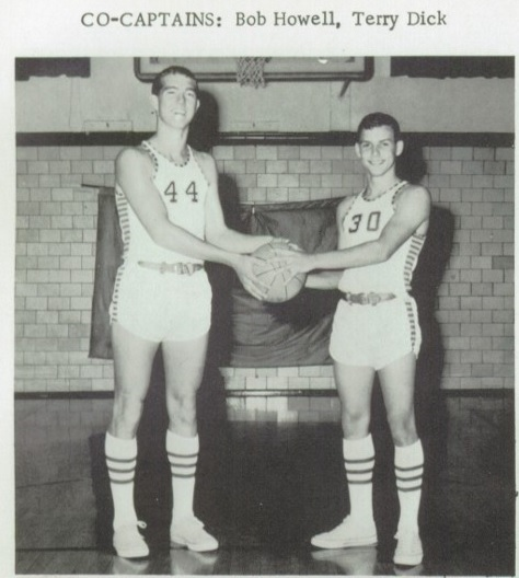 1968 Mendon Boys BB co-capts