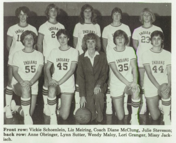 1982 FR girls bb team