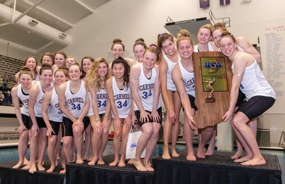 Carmel swim team 34