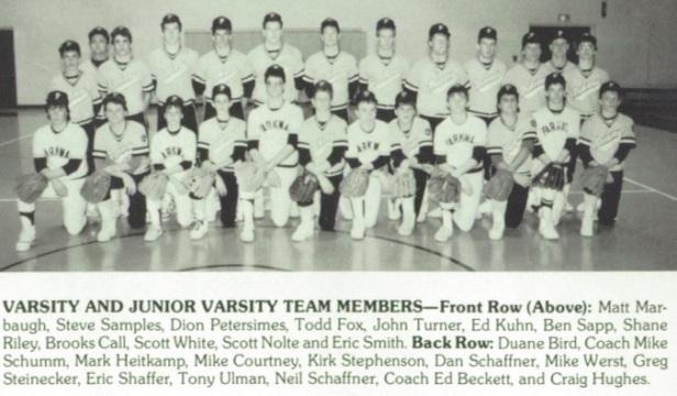 1987 PHS 1team