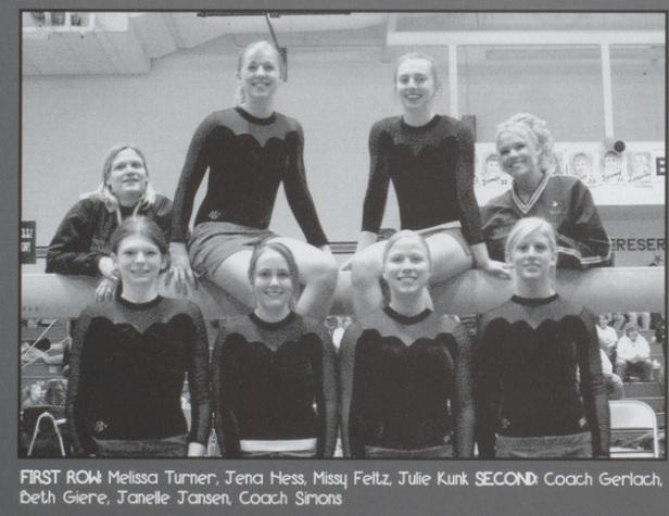 2006 gym team