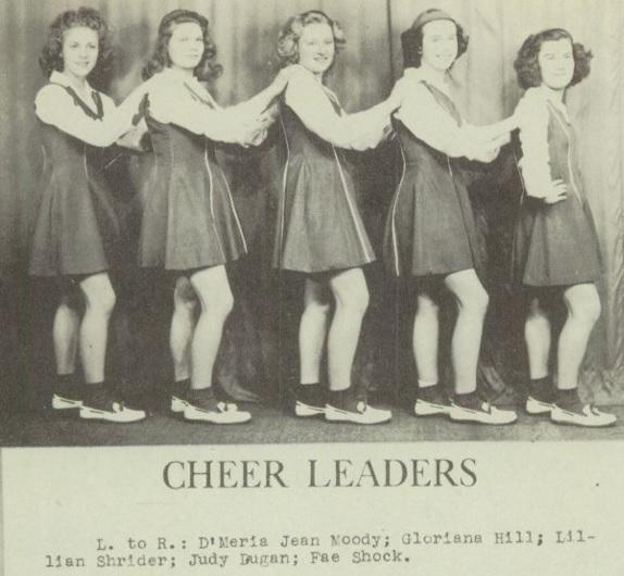 1945 Rockford HS Cheer