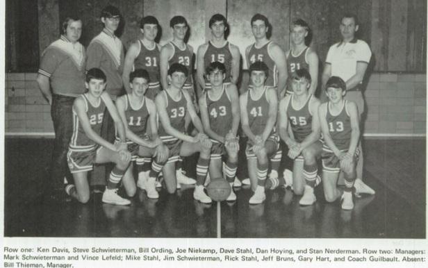 1974 St. henry Boys BB