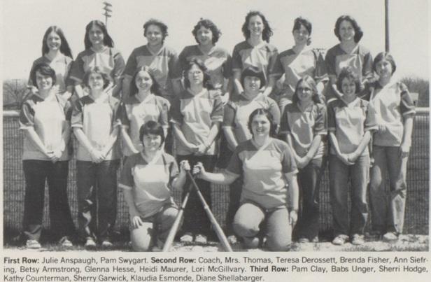 1978 Mendon SB team