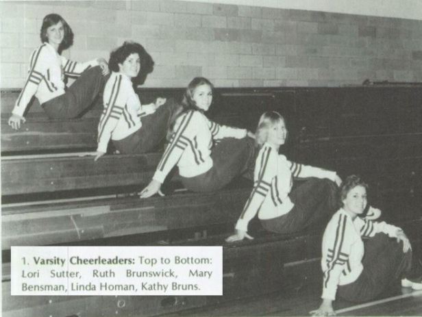 1980 St. Henry Cheerleaders