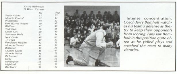 1981 Jay County Patriots results