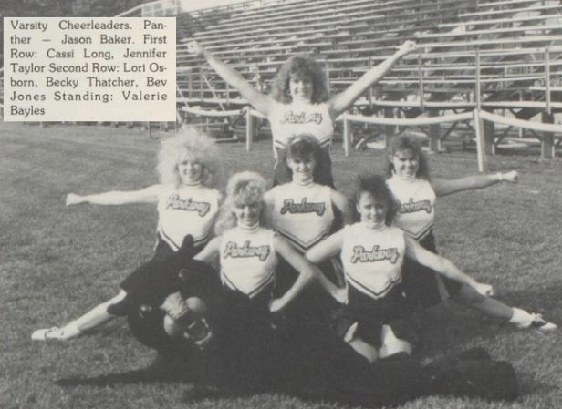 1990 Parkway Cheerleaders