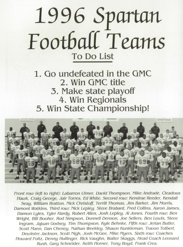 1996 Lima Sr team